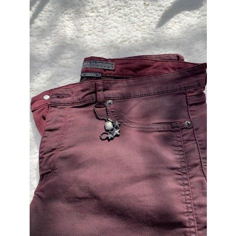 Pantalon droit IKKS Multicouleur