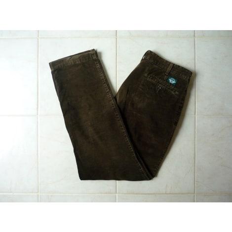 Pantalon droit DOCKERS Marron
