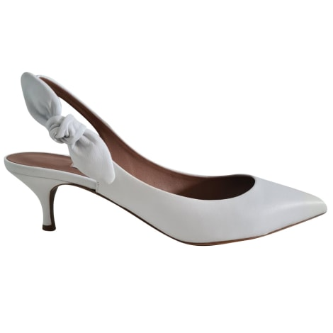 Sandales à talons TABITHA SIMMONS Blanc, blanc cassé, écru