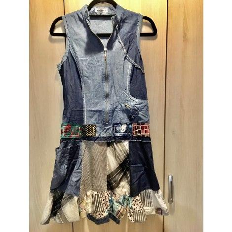 Robe en jeans MARINA Bleu, bleu marine, bleu turquoise