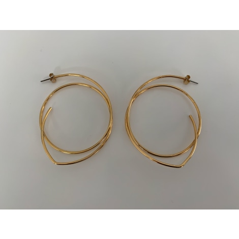 Boucles d'oreille ZARA Doré, bronze, cuivre