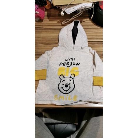 Sweatshirt DISNEY Gris et Moutarde