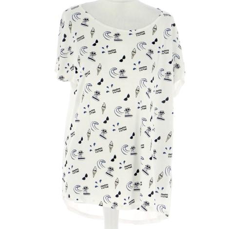 Top, tee-shirt KARL LAGERFELD Blanc, blanc cassé, écru