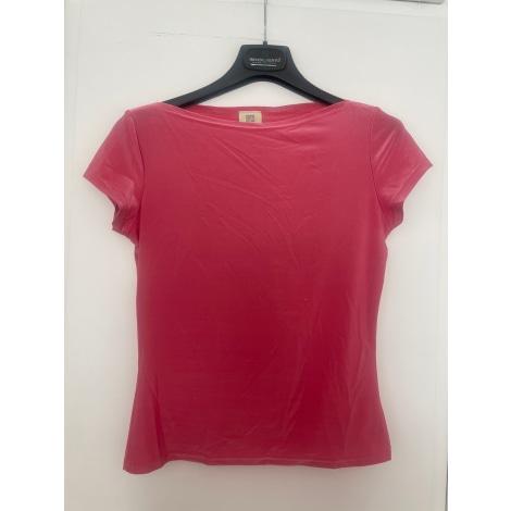 Top, tee-shirt OASIS Rose, fuschia, vieux rose