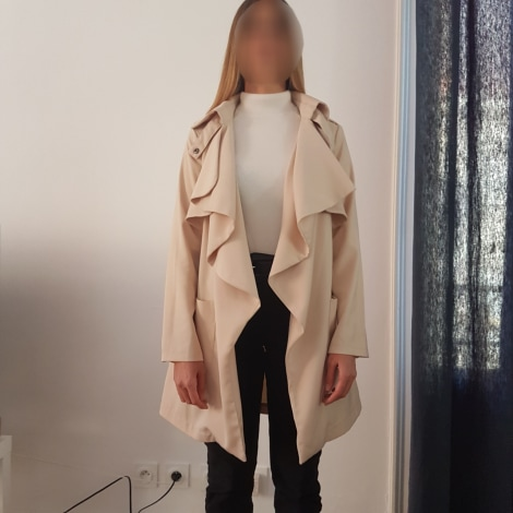 Imperméable, trench CHICWISH Beige, camel