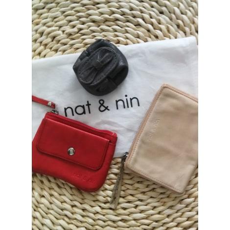 Porte-monnaie NAT & NIN Rose, fuschia, vieux rose