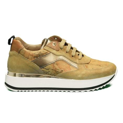 Sports Sneakers ALVIERO MARTINI Brown