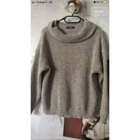 Pull SHEINSIDE Gris, anthracite