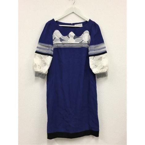 Robe mi-longue MARIA GRAZIA SEVERI Bleu, bleu marine, bleu turquoise