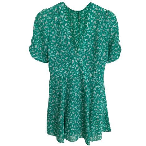 Robe courte RÉALISATION PAR Vert