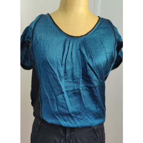 Blouse CHATTAWAK Bleu, bleu marine, bleu turquoise