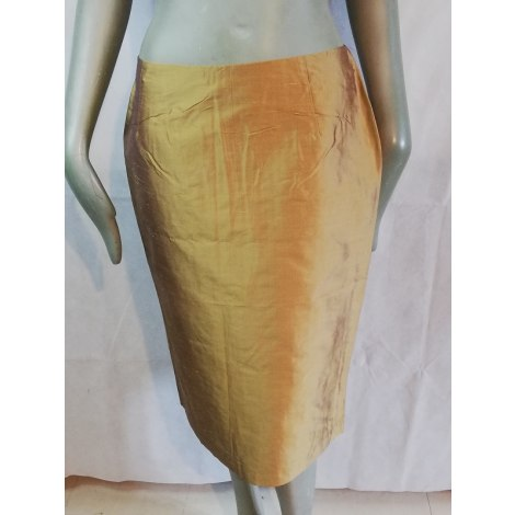 Jupe mi-longue CLIPS Doré, bronze, cuivre