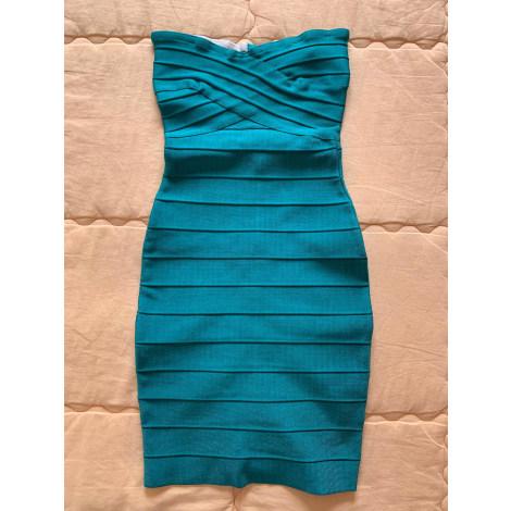 Robe courte NON SIGNÉ Bleu, bleu marine, bleu turquoise