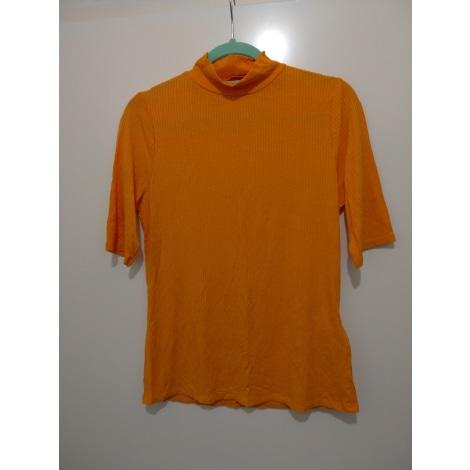 Top, tee-shirt CAMAIEU Orange