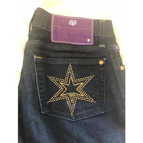 Jeans évasé, boot-cut VICTORIA BECKHAM Denim brut