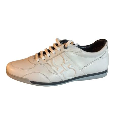 Sneakers SALVATORE FERRAGAMO Weiß, elfenbeinfarben