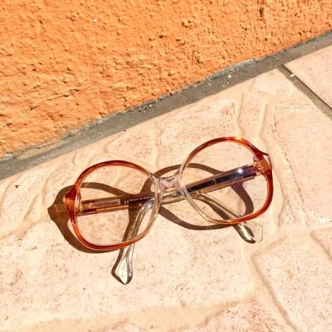 Monture de lunettes LANVIN Rouge, bordeaux