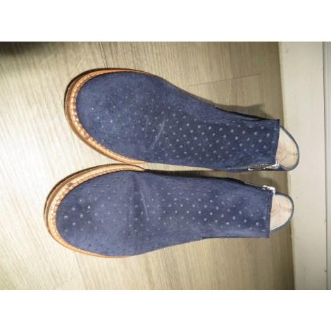 Bottines & low boots plates TRIVER FLIGHT Bleu, bleu marine, bleu turquoise