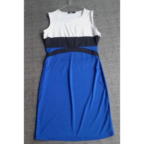 Robe courte FINEJO Bleu, bleu marine, bleu turquoise