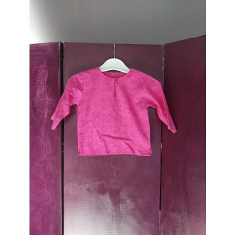 Chemisier, chemisette BOUT'CHOU Rose, fuschia, vieux rose