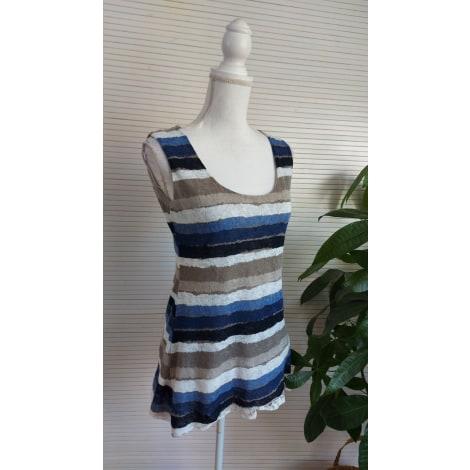 Top, tee-shirt LE SINGE DE JULIE Bleu, bleu marine, bleu turquoise