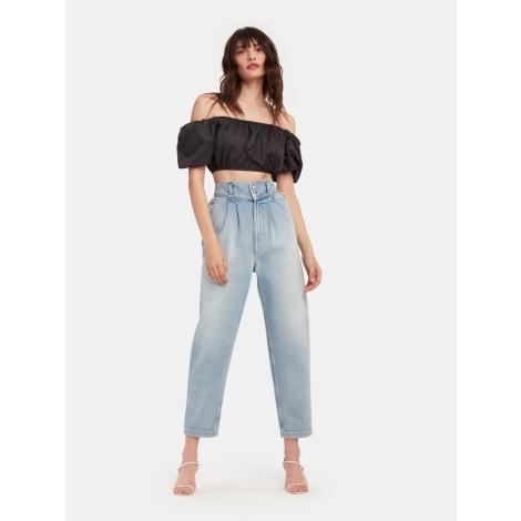 Wide Leg Jeans, Boyfriend Jeans IRO Blue, navy, turquoise