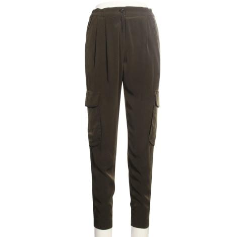 Pantalon droit KAREN MILLEN Vert