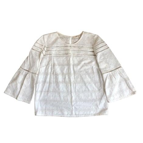Blouse BA&SH Blanc, blanc cassé, écru