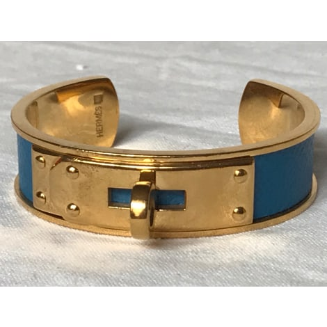 Bracelet HERMÈS Kelly Bleu, bleu marine, bleu turquoise