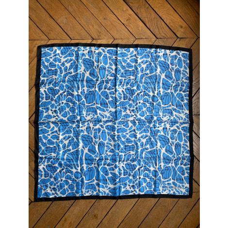 Foulard LOUIS VUITTON Bleu, bleu marine, bleu turquoise