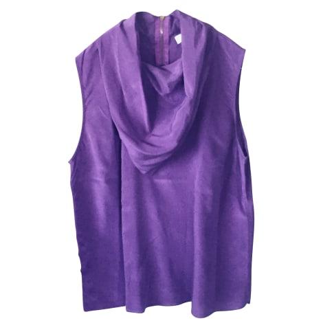 Blouse SANDRO Violet, mauve, lavande