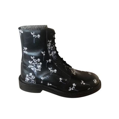 Biker Boots ERDEM X H&M Black