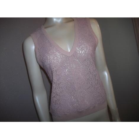 Top, tee-shirt ANNE FONTAINE Rose, fuschia, vieux rose