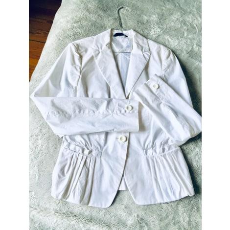 Veste BVM Blanc, blanc cassé, écru