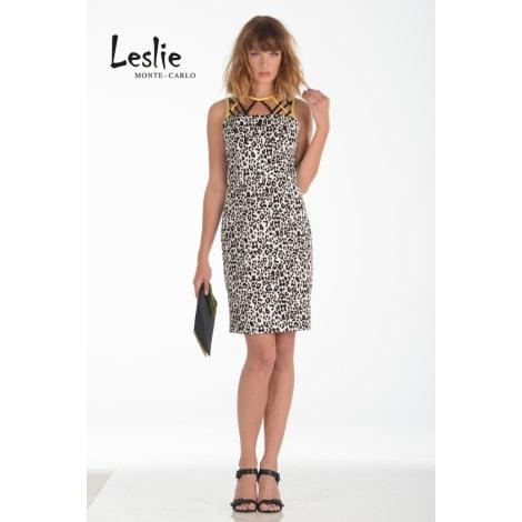 Robe mi-longue LESLIE MONTE-CARLO Imprimés animaliers