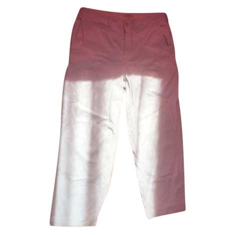 Pantalon large BELLEROSE Blanc, blanc cassé, écru