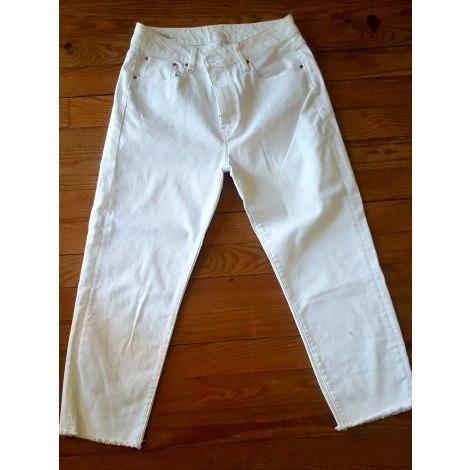 Jeans large, boyfriend G-STAR Blanc, blanc cassé, écru