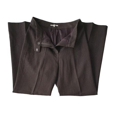 Tailleur pantalon ARMAND VENTILO Marron