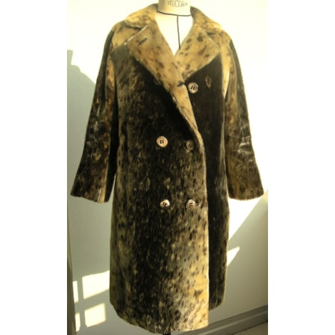 Manteau en fourrure DIOR Imprimés animaliers