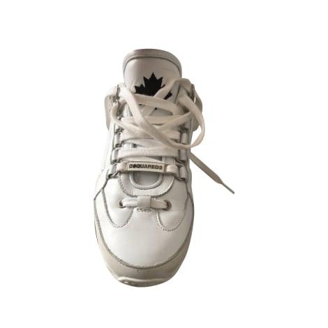 Baskets DSQUARED2 Blanc, blanc cassé, écru