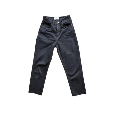 Jeans large, boyfriend BA&SH Noir