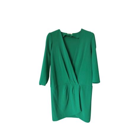 Robe courte BA&SH Vert
