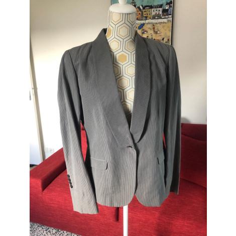 Tailleur pantalon YUMI MAZAO Gris, anthracite
