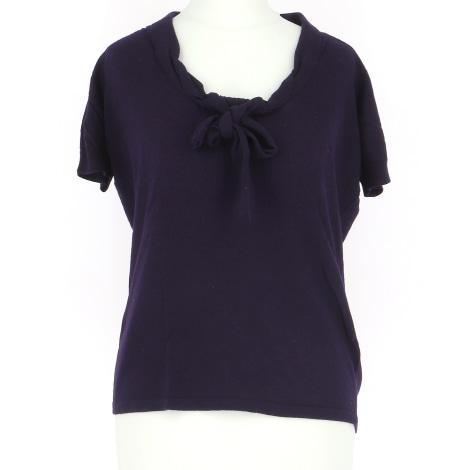 Top, tee-shirt VANESSA BRUNO Violet, mauve, lavande