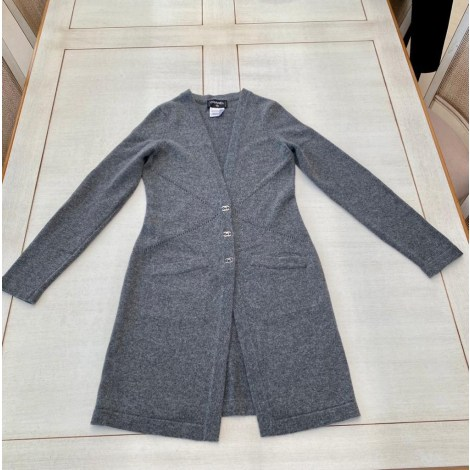 Gilet, cardigan CHANEL Gris, anthracite