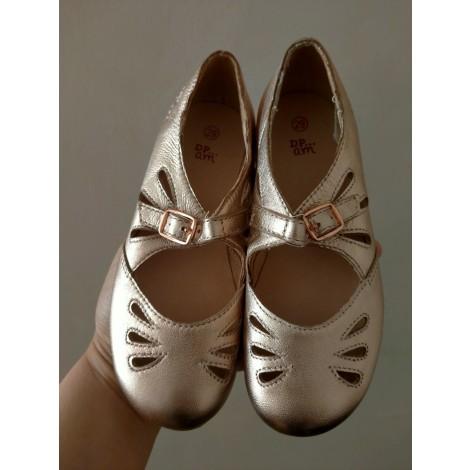 Chaussures à boucle DU PAREIL AU MÊME DPAM Rose, fuschia, vieux rose