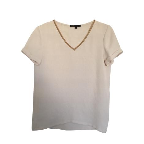 Top, tee-shirt MAJE Beige, camel