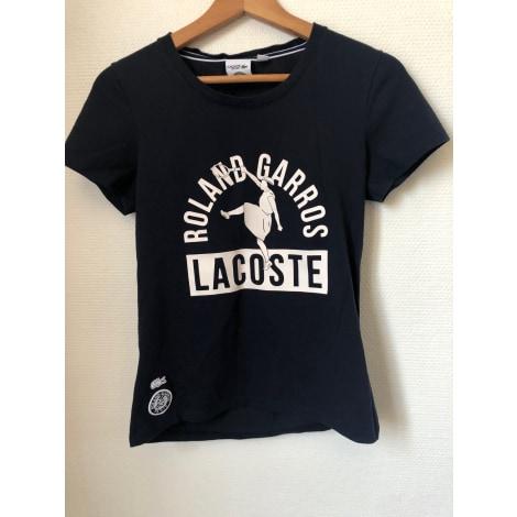 Top, tee-shirt LACOSTE Bleu, bleu marine, bleu turquoise