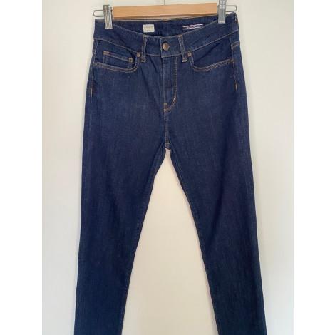 Jeans slim TOMMY HILFIGER Bleu, bleu marine, bleu turquoise