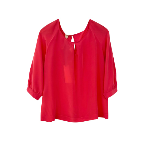 Top, tee-shirt PINKO Rose, fuschia, vieux rose